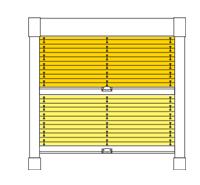 plissees f r dachfenster in ma anfertigung bei rolloexpress. Black Bedroom Furniture Sets. Home Design Ideas