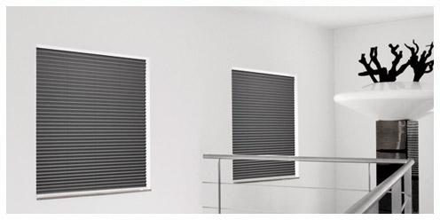 verdunkelungsplissee f r dachfenster und schlafzimmer ersetzt das verdunkelungsrollo. Black Bedroom Furniture Sets. Home Design Ideas