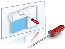 Montageanleitung für Plissee